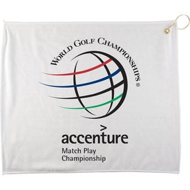 Polyester Blend Golf Towel