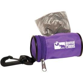 Poopy Pet Bag Dispenser for Advertising