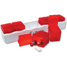 Pop Out 7 Day Pill Box for your School