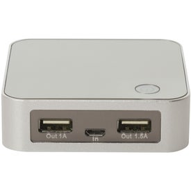 Branded Portable Dual-Port Charger