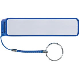 Promotional Portable Charger with Key Ring