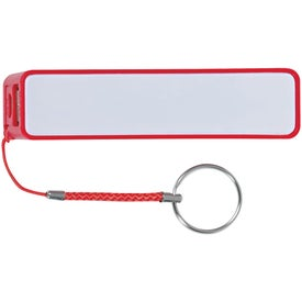 Portable Charger with Key Ring Imprinted with Your Logo