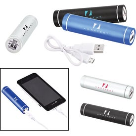 Portable Cylinder Metal Power Bank Charger