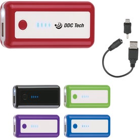Portable LED Light Charger Branded with Your Logo