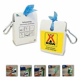 Portable Plastic Bag Dispenser