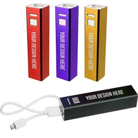 Advertising UL Listed Portable USB Charger