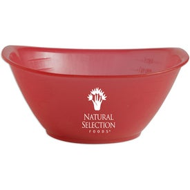 Portion Bowl with Your Slogan