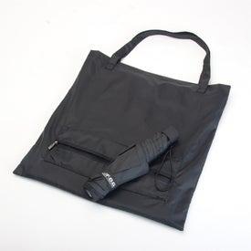 London Fog Portola Compact Size Folding Umbrella Imprinted with Your Logo