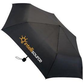 London Fog Portola Compact Size Folding Umbrella with Your Logo