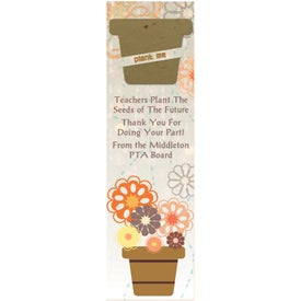 Pot Seed Shape Bookmark