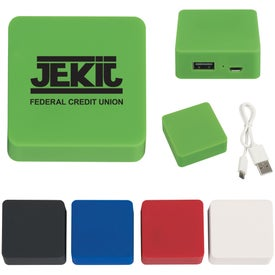 Power Bank with Rubber Finish for your School