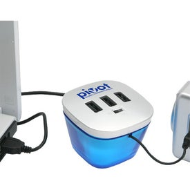 Monogrammed Power Hub Station Mobile Charger