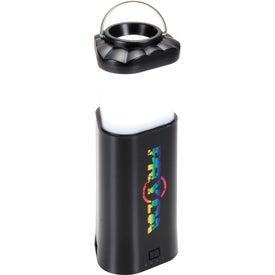 Power Up 6000 mAh Power Bank Lantern Flashlight