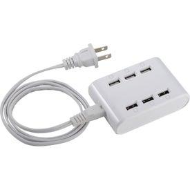 Powertech ETL Certified 6 Port USB Hub