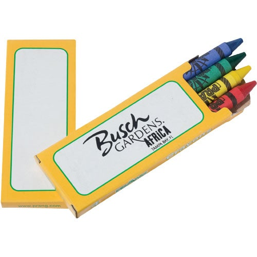 Yellow Prang Ad 4 Color Crayon Pack