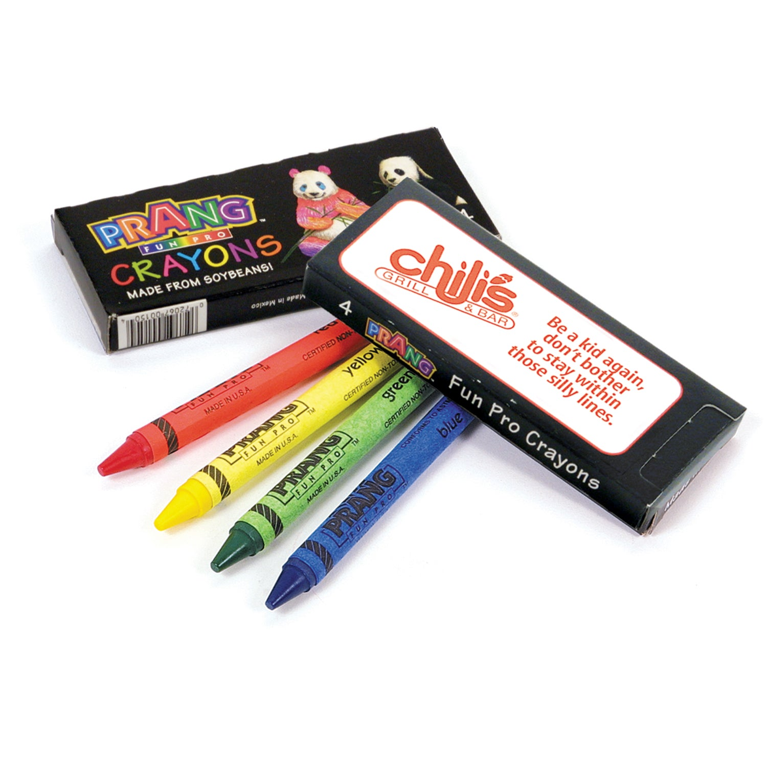 Promotional Prang Fun Pro Crayons with Custom Logo for $0 ...