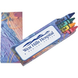 Prang Impressionist 4 Color Crayon Packs