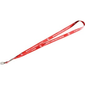 Advertising Satin Lanyard