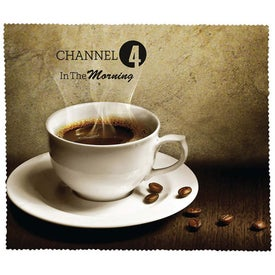 Premium Microfiber Cleaning Cloth (Coffee)