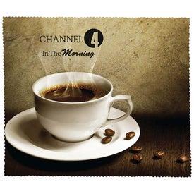 Premium Microfiber Cleaning Cloth (Coffee)