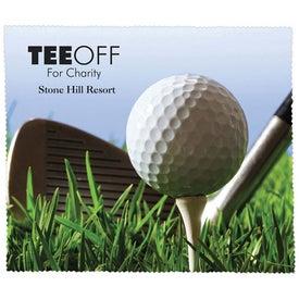Premium Microfiber Cleaning Cloth (Golf)