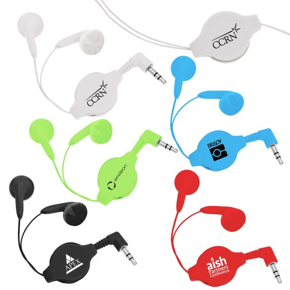 Premium Retractable Ear Buds