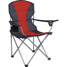 Premium Stripe Chair with Your Slogan