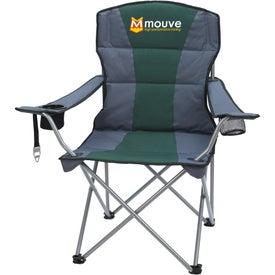 Monogrammed Premium Stripe Chair