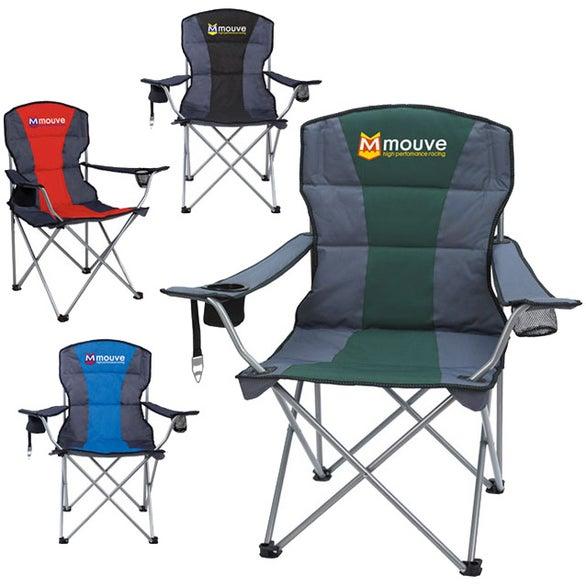 Group Photo Premium Stripe Chair Giveaways