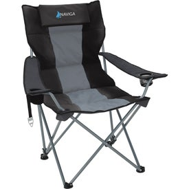 Premium Stripe Reclining Chair Printed with Your Logo