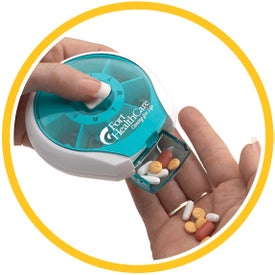 Press-It Pill Dispenser Branded with Your Logo