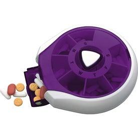 Branded Press-It Pill Dispenser