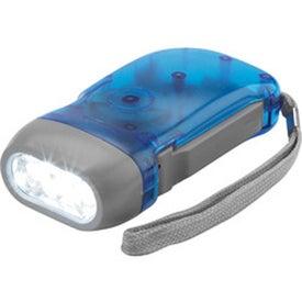 Presto 3-LED Press Light with Your Logo