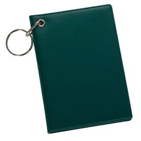Branded Pride ID Holder Keychain