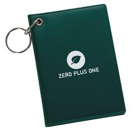 Logo Pride ID Holder Keychain