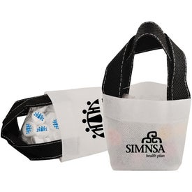 Printed Candy Mini Tote Imprinted with Your Logo
