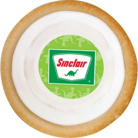 Printed Round Cookie for Advertising