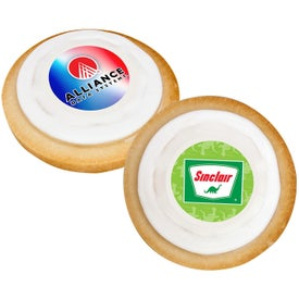 Printed Colorful Round Cookie