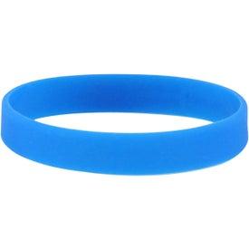 Logo Printed Silicone Bracelets