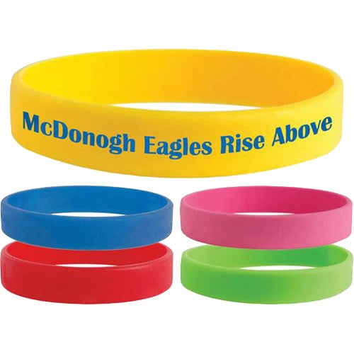 Color Silicone Bracelets