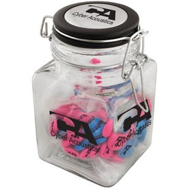 Printed Candy Modern Mason Jar Branded with Your Logo