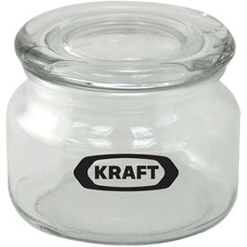Pritchey Patio Glass Jar (8 Oz., Empty)