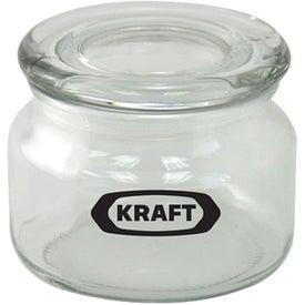 Pritchey Patio Glass Jar (8 Oz., Empty)