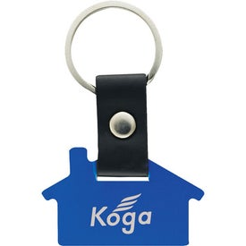 Imprinted Promotional House Key Tags