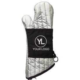Professional Oven Mitt for Marketing