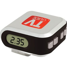 Imprinted Projection Clock Pedometer