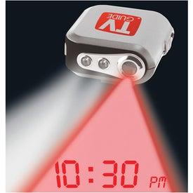 Projection Clock Pedometer
