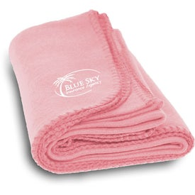Branded Polyester Fleece Blanket