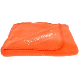 Promotional Polyester Polar Fleece Blankets
