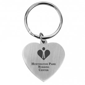 Promotional Promo Heart Keychain